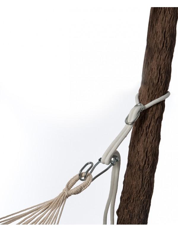 Support Métal - Rope Pro Kit de Fixation pour Hamac