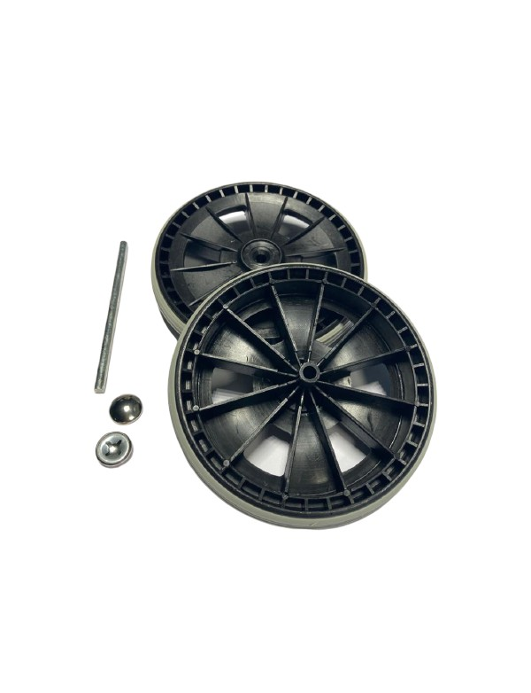 Set of 2 wheels and fixing for Universal support
