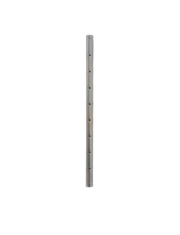 Straight steel tube for extension (central) - Universal support