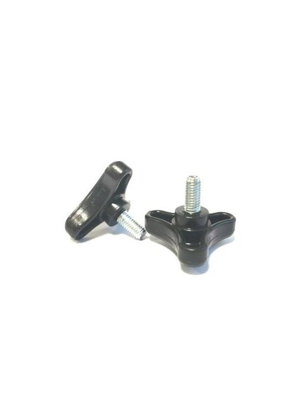Set of 2 Knob Clamping Screws - Male Thread