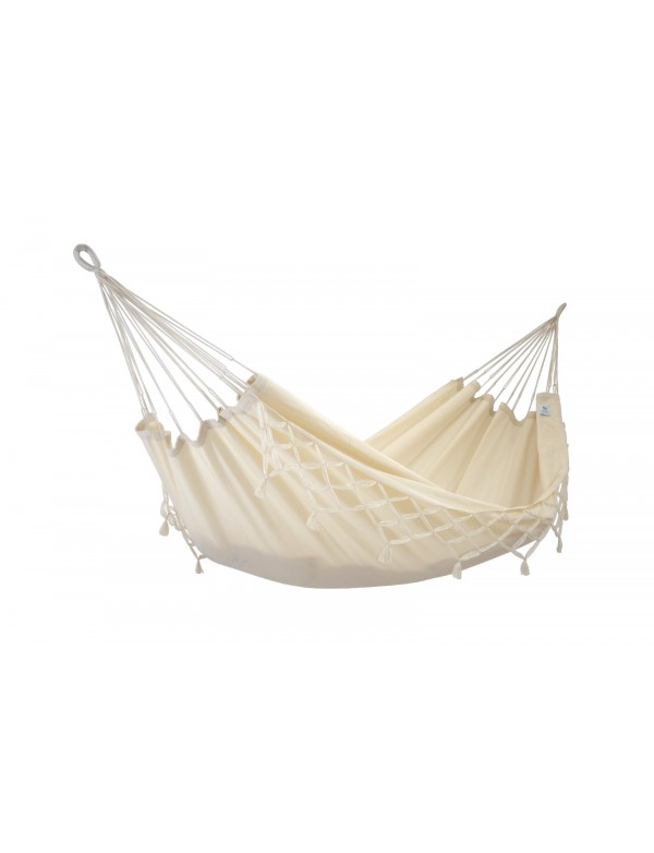 Kocon - Traditional Ecru Hammock with Fringes